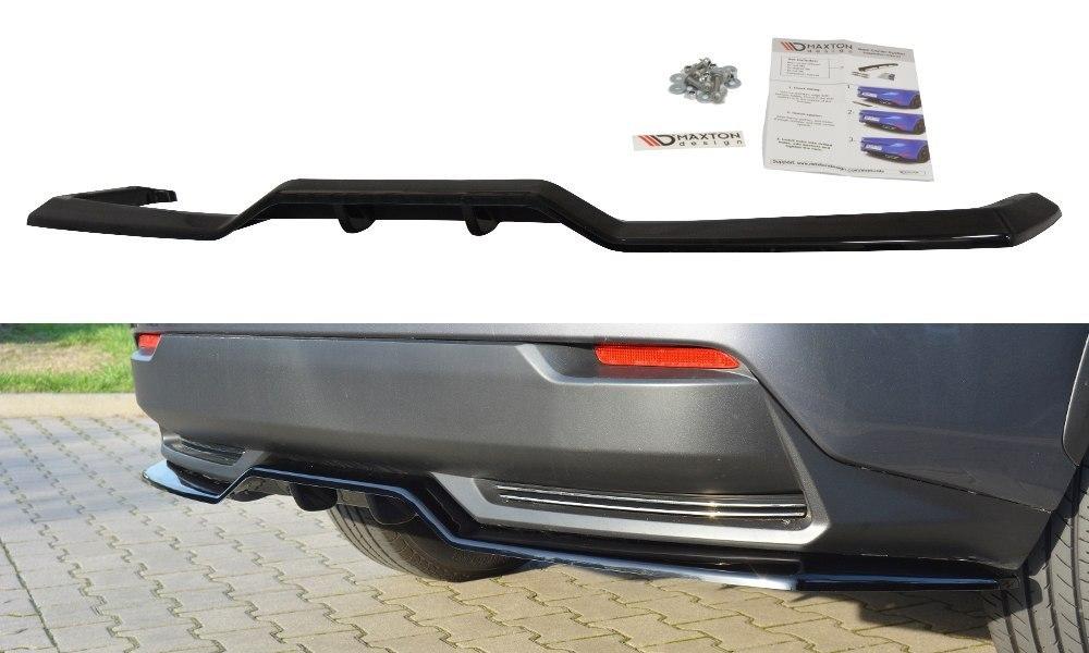 Splitter Tylny Środkowy Lexus NX Mk1 H (Z dyfuzorem) - GRUBYGARAGE - Sklep Tuningowy